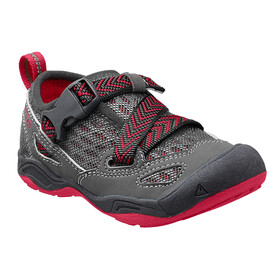 Keen Komodo Dragon - Chaussures Enfant - gris/rouge